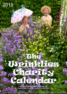 The Cover of the 2015 Wrinklies Charity Calendar